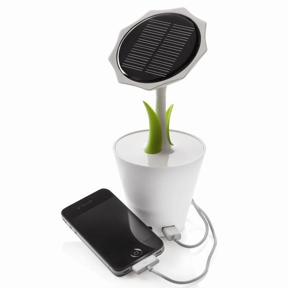gadgets, oficina, cargador solar, smartphone, iPhone, iPad