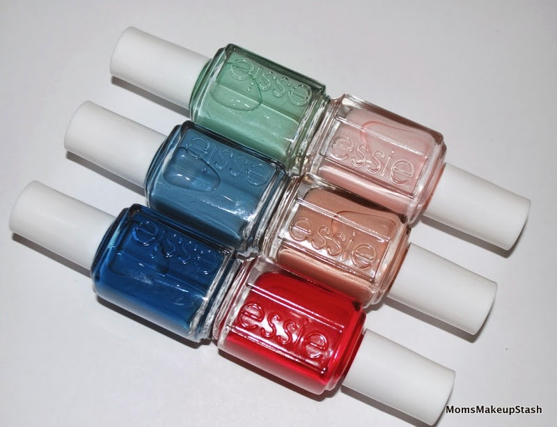 Essie Nail Polish, Essie Spring, Essie Spring 2014, Essie Hide & Go Chic, Essie Collection, Nail Polish, Essie Style Hunter, Essie Fashion Playground, Essie Romper Room, Essie Truth or Flare, Essie Spin the Bottle