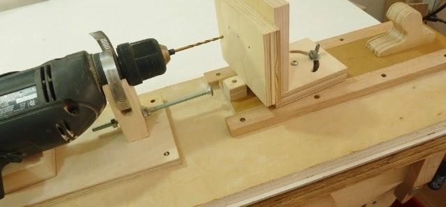 Make a Horizontal and Angle Drill Mini Lathe
