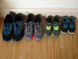 Four Pairs of Trainers