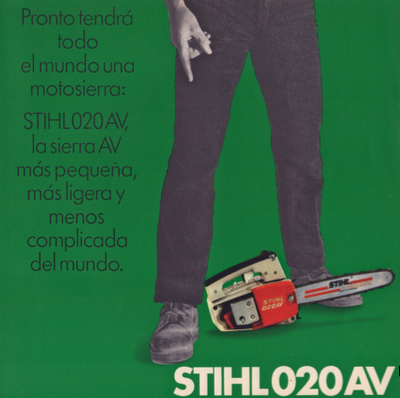 Stihl 020AV