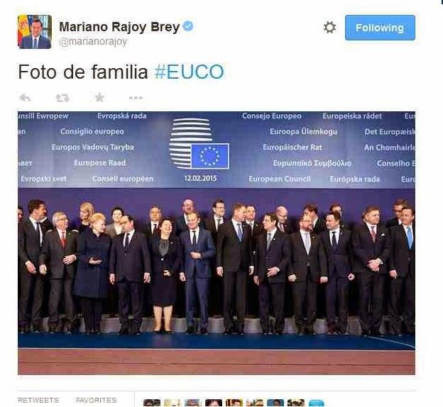 """Εικόνα από το μέλλον; Ο Ραχόϊ έκοψε τον Τσίπρα από την """"οικογενειακή"""" φωτογραφία!"""