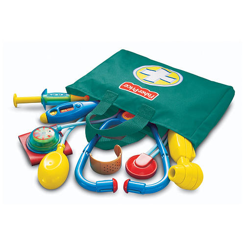 Toy Doctor Kit : Fourth grade nothing s vintage fisher price medical kit