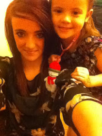 my beautiful eldest grandaughter with her young sister