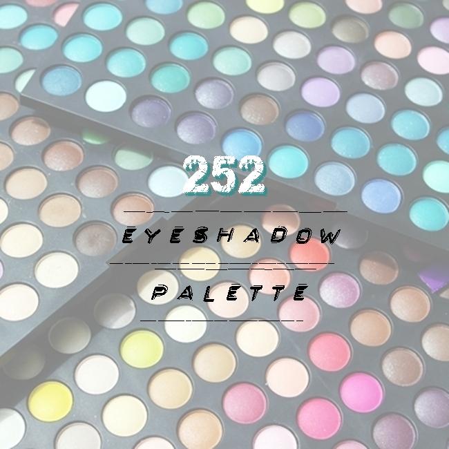 Instagram @lelazivanovic.Glam Fab Week.252 eyeshadow palette.252 paleta senki za oci.