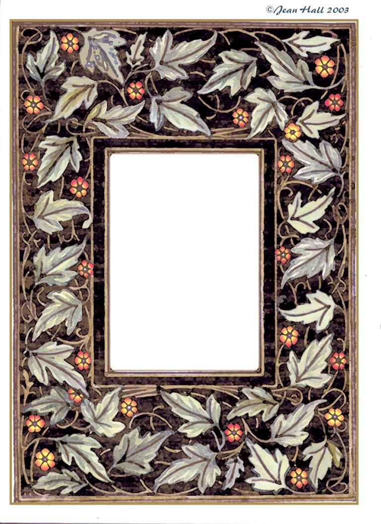 ArtbyJean - Frames: Rectangular frames with rect. hole and hand ...