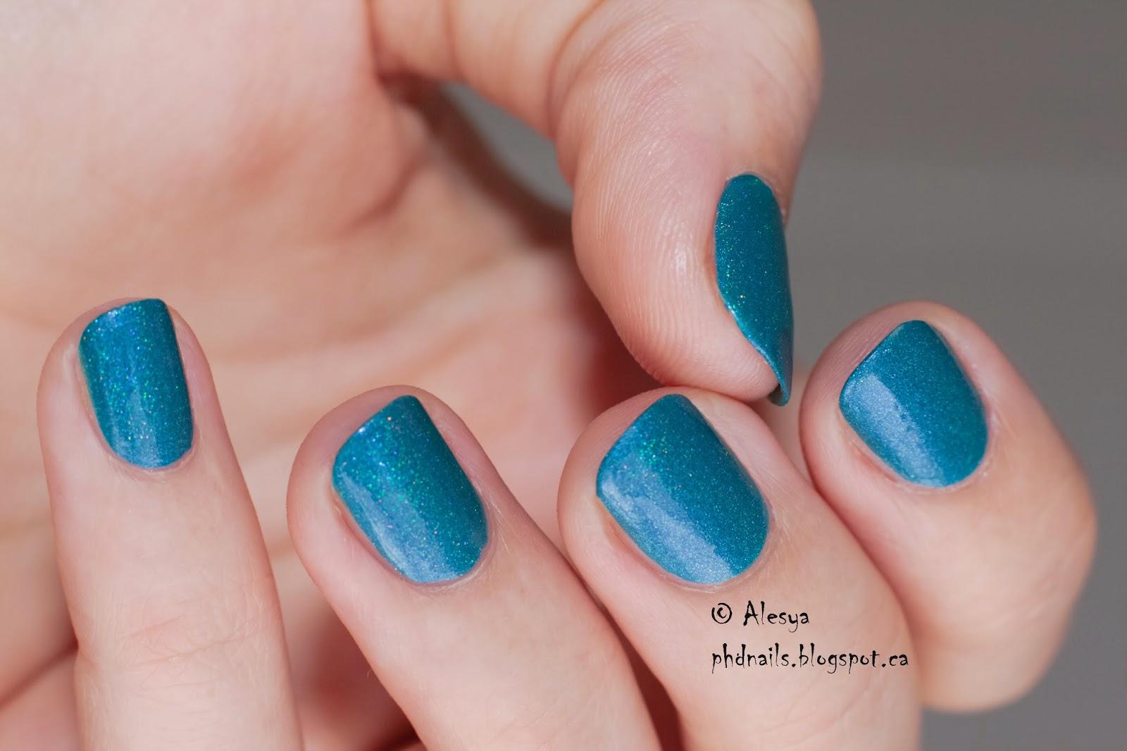 PhD nails: ABC challenge: Enchanted polish LaLa land swatch