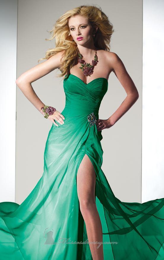 en esta colección de vestidos de fiesta 2012, con vestidos