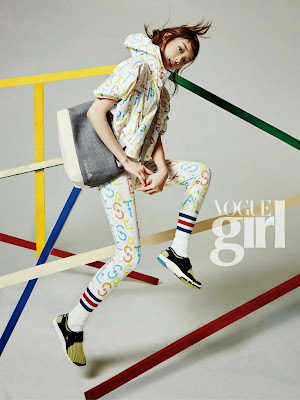 Lee Sung Kyung - Vogue Girl Magazine April Issue 2015