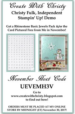 My November Customer Thank You Gift-Host Code UEVEMH3V