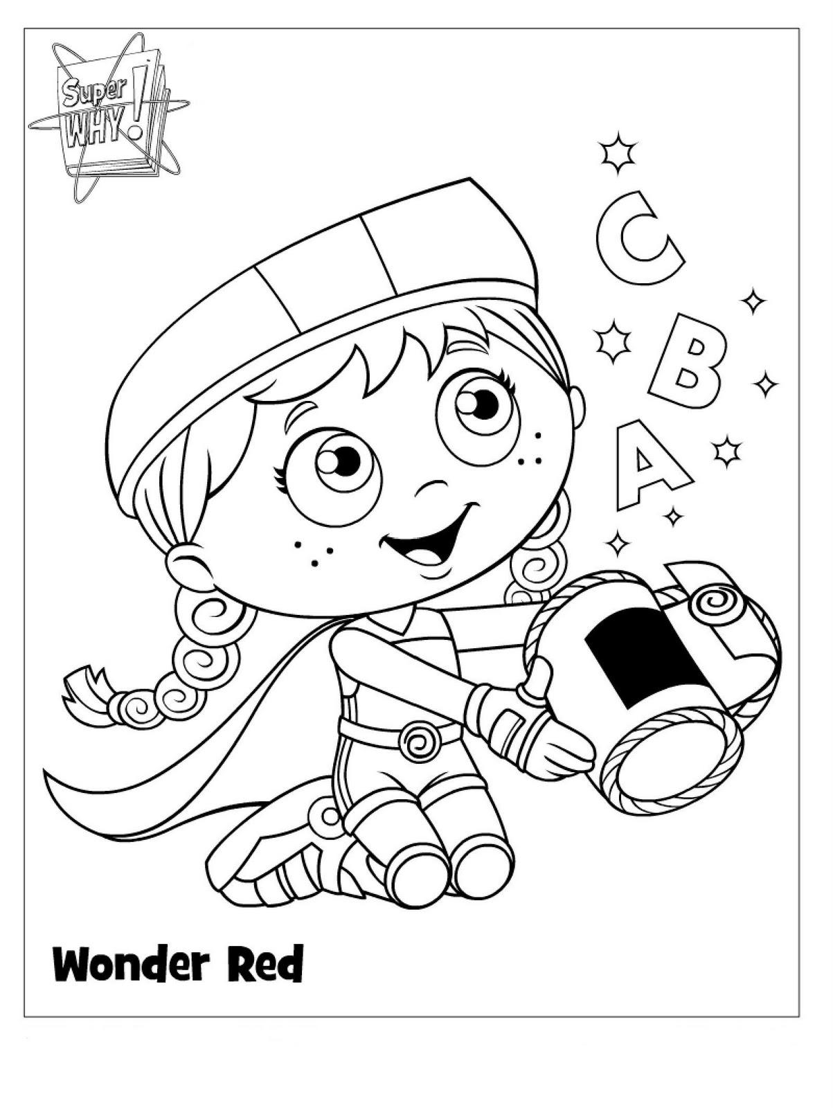 super y coloring pages - photo#30