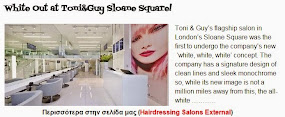 White Out at Toni&Guy Sloane Square!