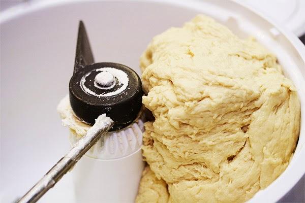 Dough-in-Mixer