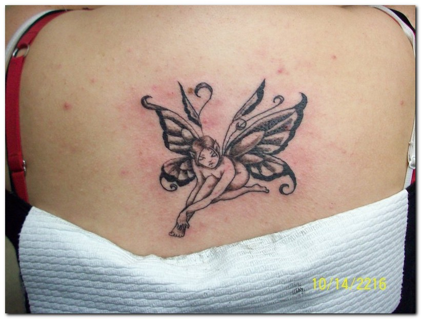 fairy tattoo designs for women-1