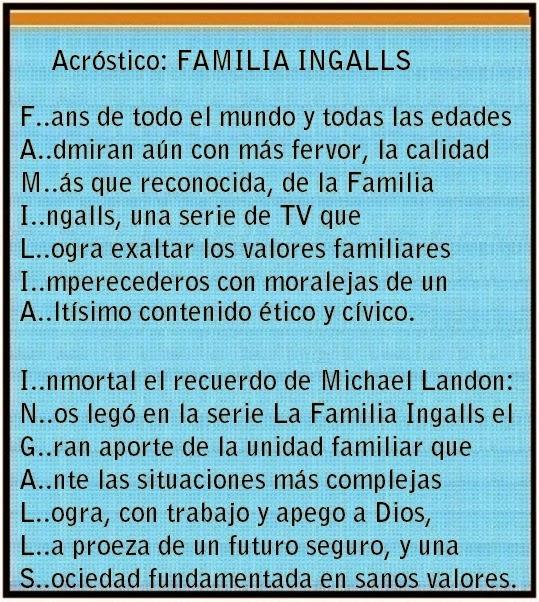 Un acróstico para la Familia Ingalls,jpg