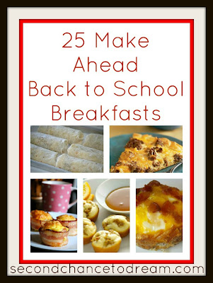 breakfasts that can be made a head, freezer cooking