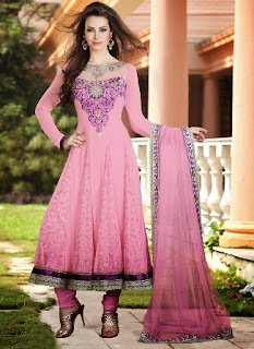 Embroidered Frock Collection 2013-14