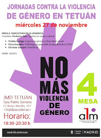 Jornadas contra la violencia de género en Tetuán