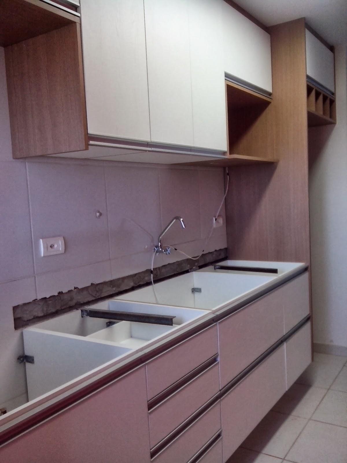 Reforma do meu apê: Montagem cozinha e lavanderia #7E5F4B 1200 1600
