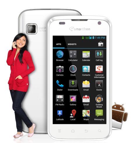 Smartfren Andromax-i 4.0 Hp Android Murah