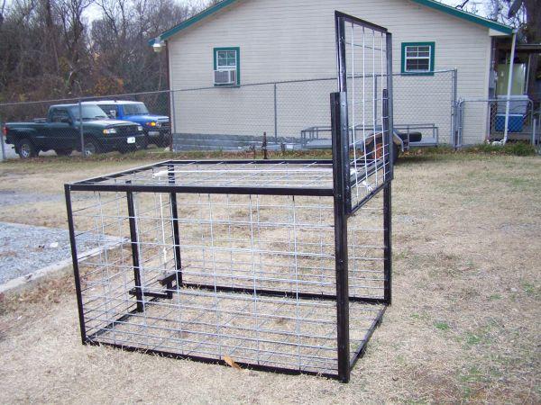 Hog trap door designs