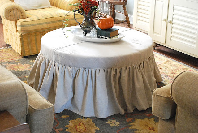 Creative ideas projects from the showcase party along with some giveaway winners - Creative diy ottoman ideas ...