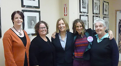 SJP pops in to the Aisling Irish Community Center