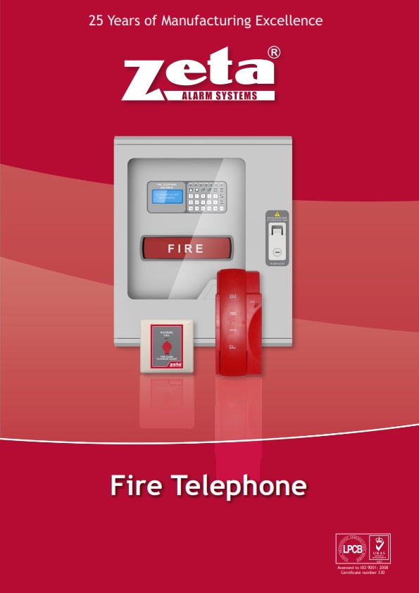 Zeta Fire Alarm Fire Telephone Jeddah Makkah And Riyadh