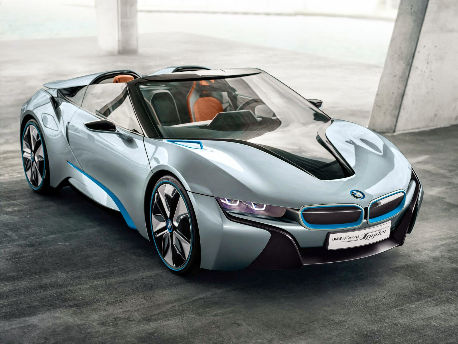 BMW i8 spyder new latest car model wallpaper free download