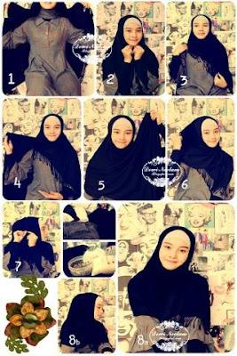 aplikasi hijab tutorial