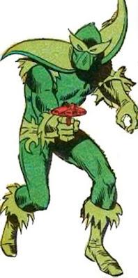 Dibujo del Hombre Planta-Marvel