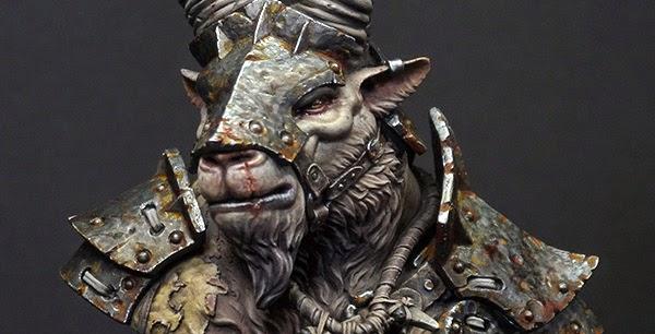 Massive Voodoo: Step by Step: Sha'un - Ram Tribe Warrior