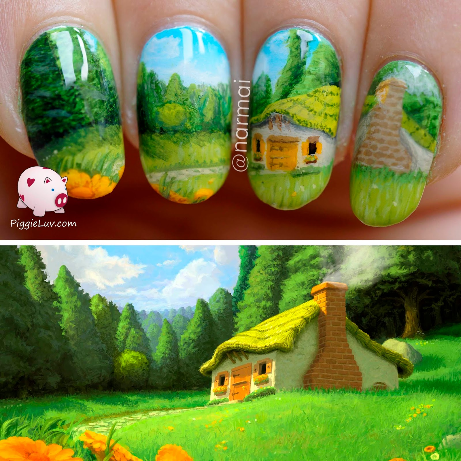 Do freehand nail art ledufa incredible do freehand nail art 12 for inspiration article prinsesfo Images