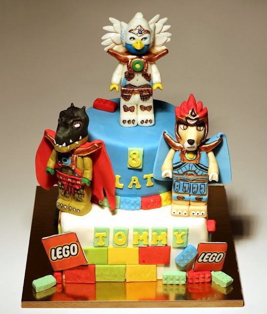 Lego Chima Birthday Cake - Best Childrens Birthday Cakes in London