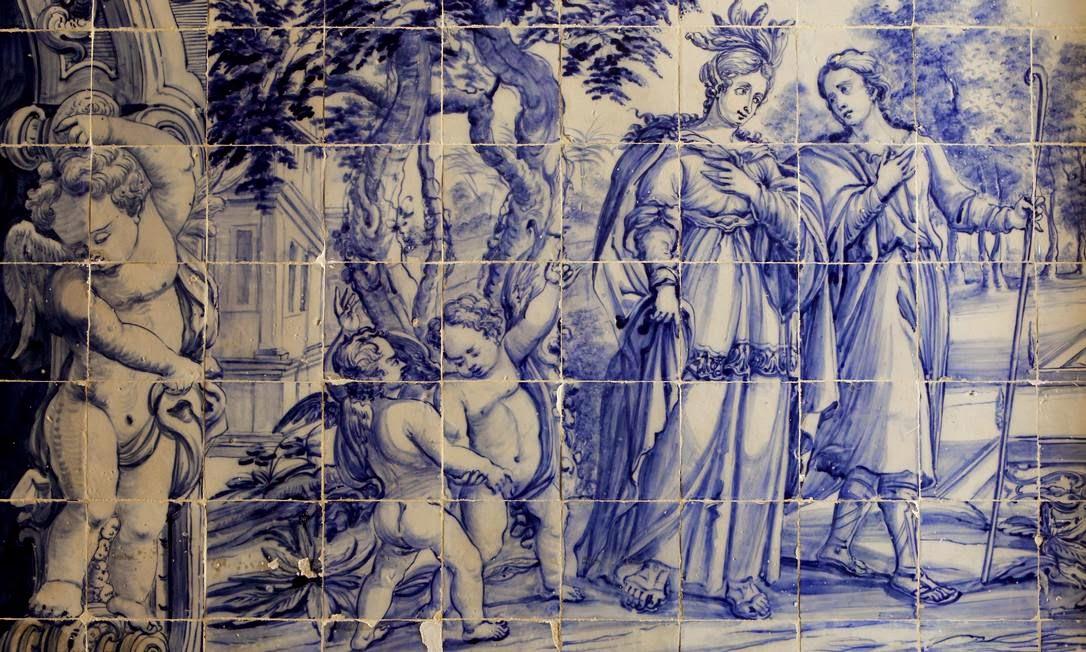Azulejos antigos no rio de janeiro azulejos pe as que se encaixam para contar a hist ria do rio - Azulejos portugueses comprar ...