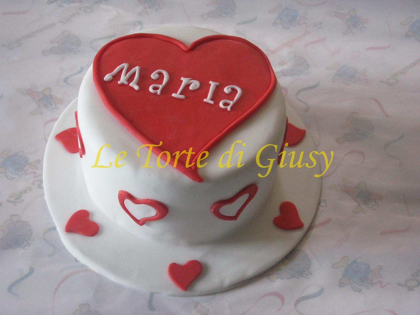 Eccezionale Le Torte di Giusy - Rende - Cosenza: Torta di Compleanno di Maria WB19