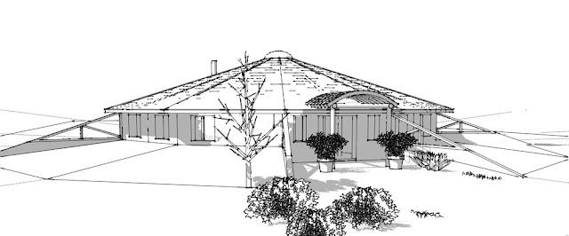 план дома - внешний вид