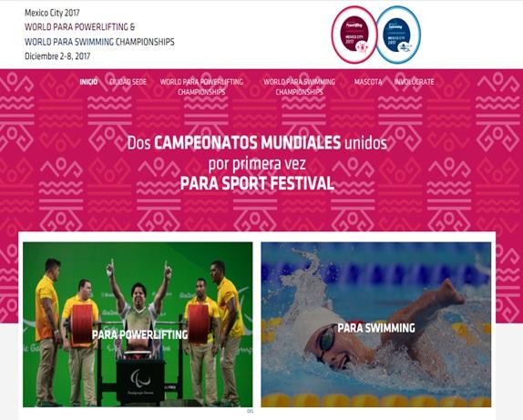 Dos Campeonatos Mundiales unidos  por primera vez Para Sport Festival