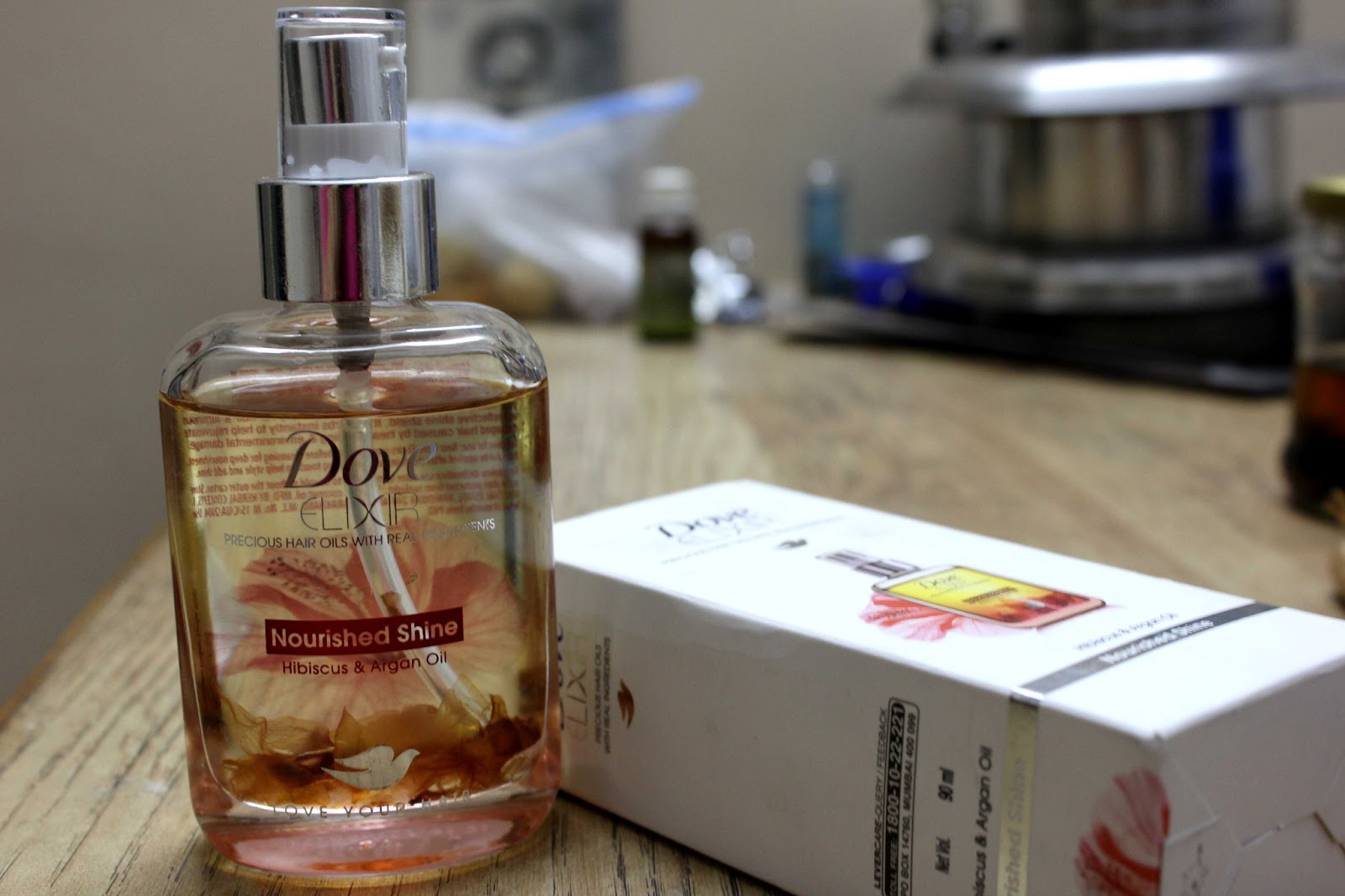 Dove Elixir Nourished Shine Hibiscus & Argan Oil Product Preview at Perfect Skin Care for you