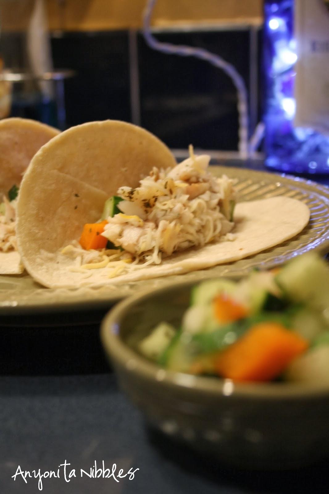 Grilled Baja fish tacos from www.anyonita-nibbles.com