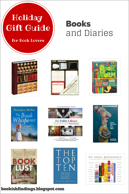 Holiday Gift Guide for Book Lovers - Books and Journals