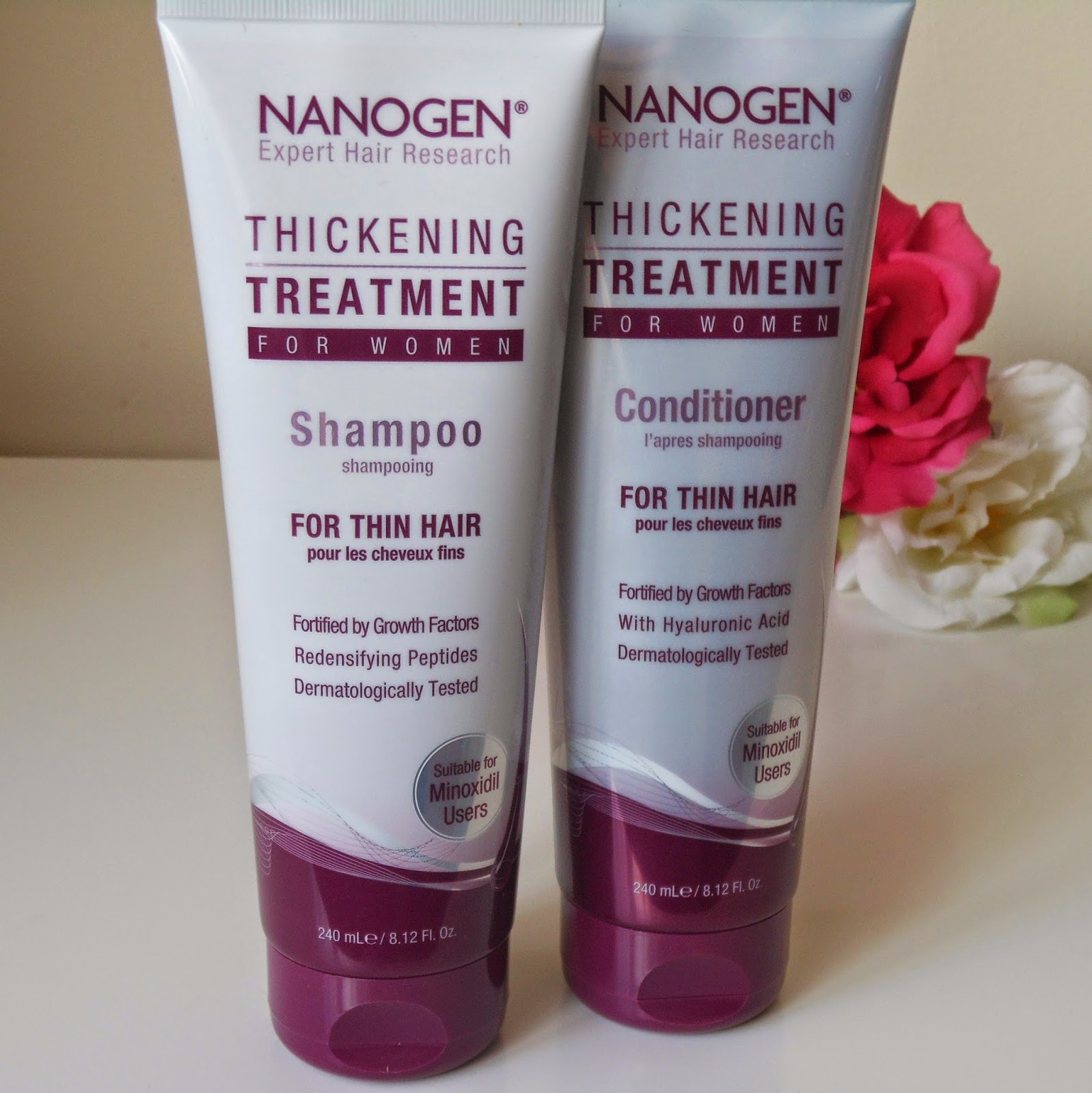 nanogen thickening shampoo conditioner for women