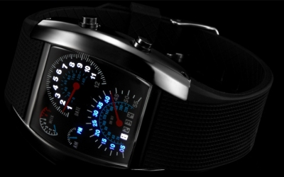 LED Watch Speedometer