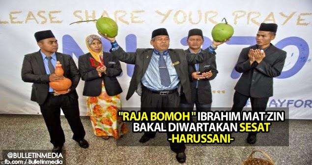 'Raja Bomoh' Ibrahim Mat Zin Bakal Diwartakan Sesat – Harussani