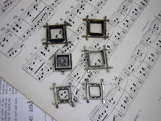 Ice Resin Square Stick Bezels for Resin work
