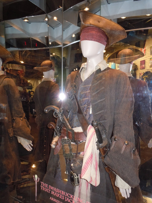 Johnny Depp Captain Jack Sparrow costume