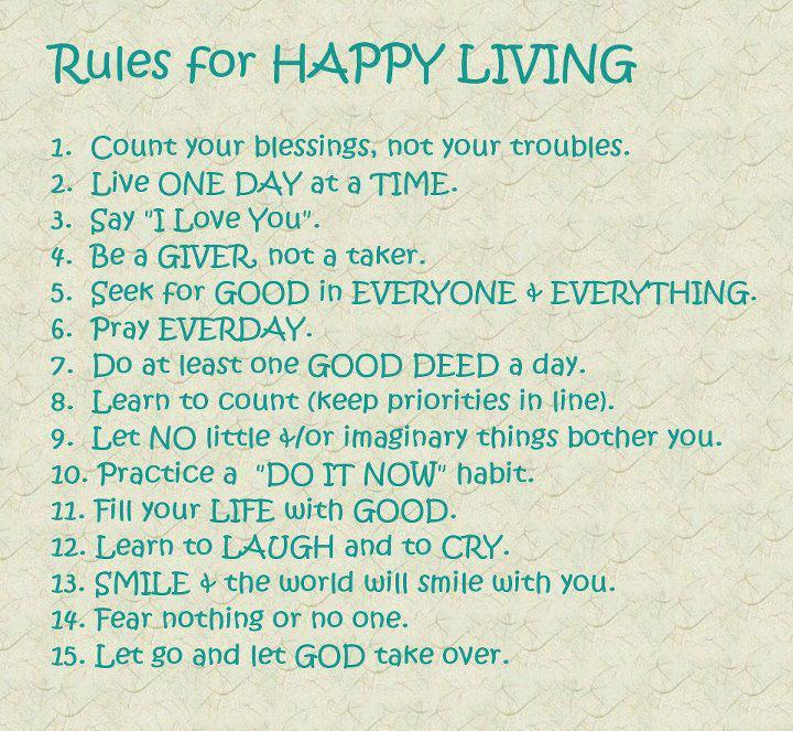 quotes about happy living - photo #2
