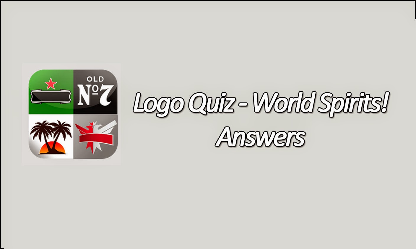 logo quiz world spirits is a puzzle game made by bubble quiz games