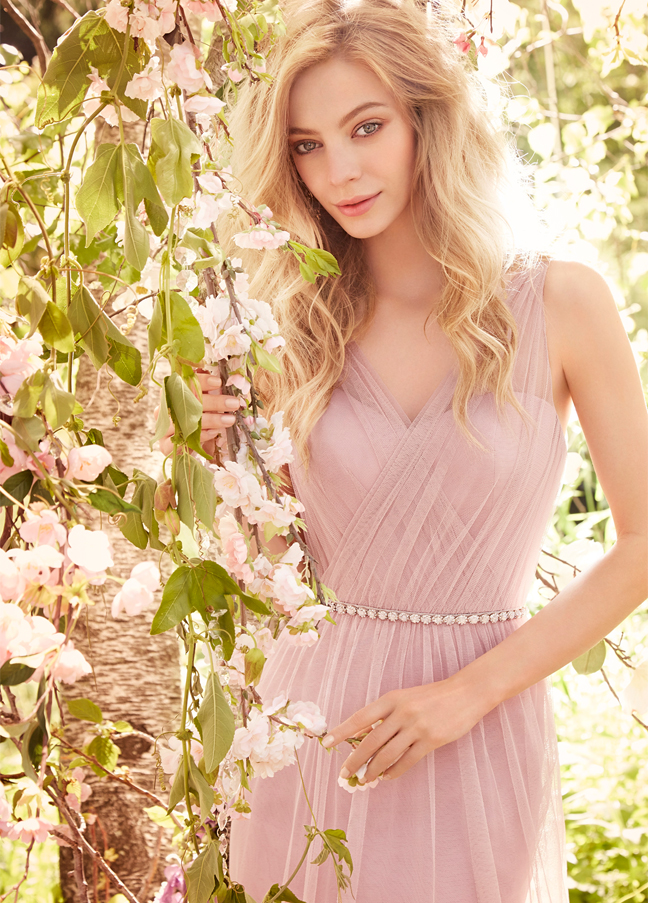 http://www.rosanovias.com.au/pink-illusion-v-neck-aline-tulle-long-bridesmaid-dress-p-21688.html