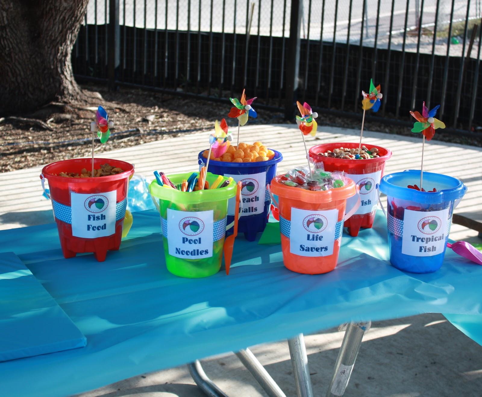 Mom swim bike run nicholas 39 9th birthday party a pool party - Swimming pool party ideas for kids ...